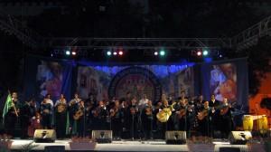 Barrio del Carmen 2011 - En el escenario